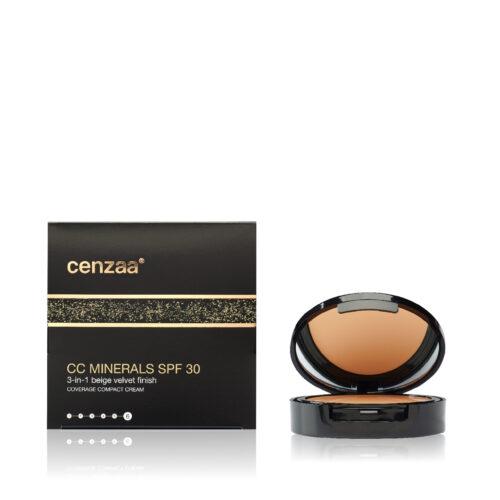 Cenzaa CC Minerals SPF30 Beige Velvet Finish